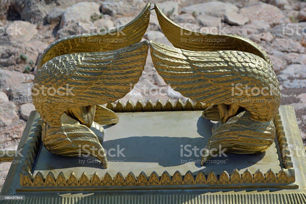 Cherubs of the Ark stock photo