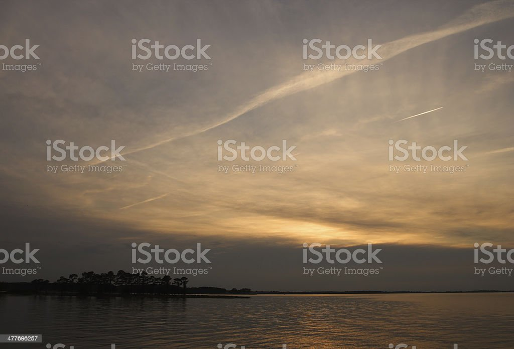 Chesapeake Landscape stock photo