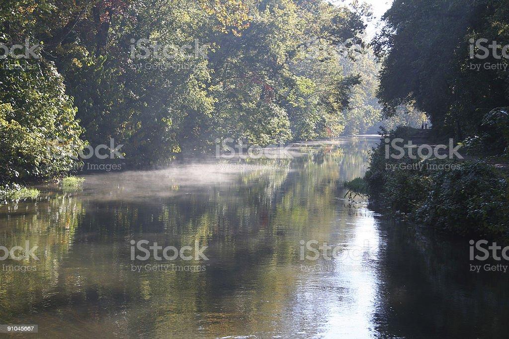 chesapeake & ohio canal, maryland royalty-free stock photo