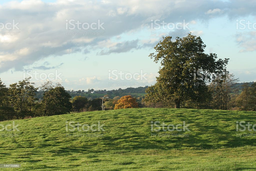 cheshire in autumn royalty-free stock photo
