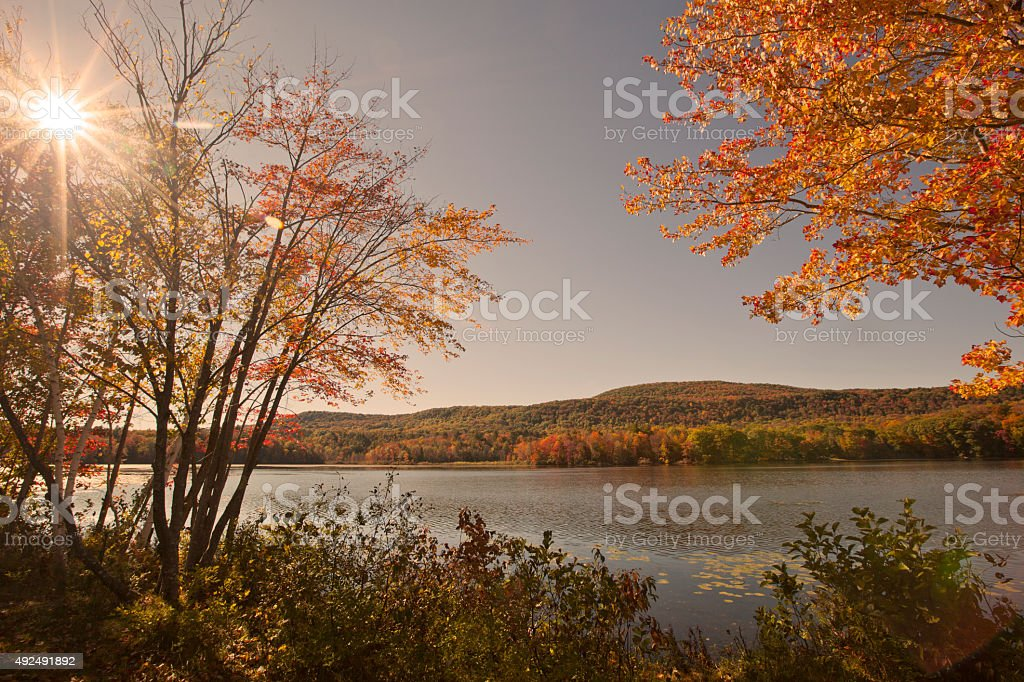 Cheshire Lake stock photo