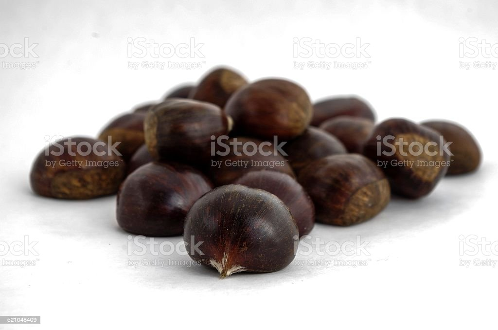 Chesnuts stock photo