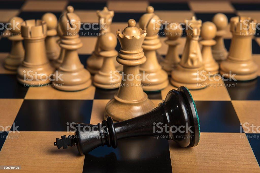 Chess 1 stock photo
