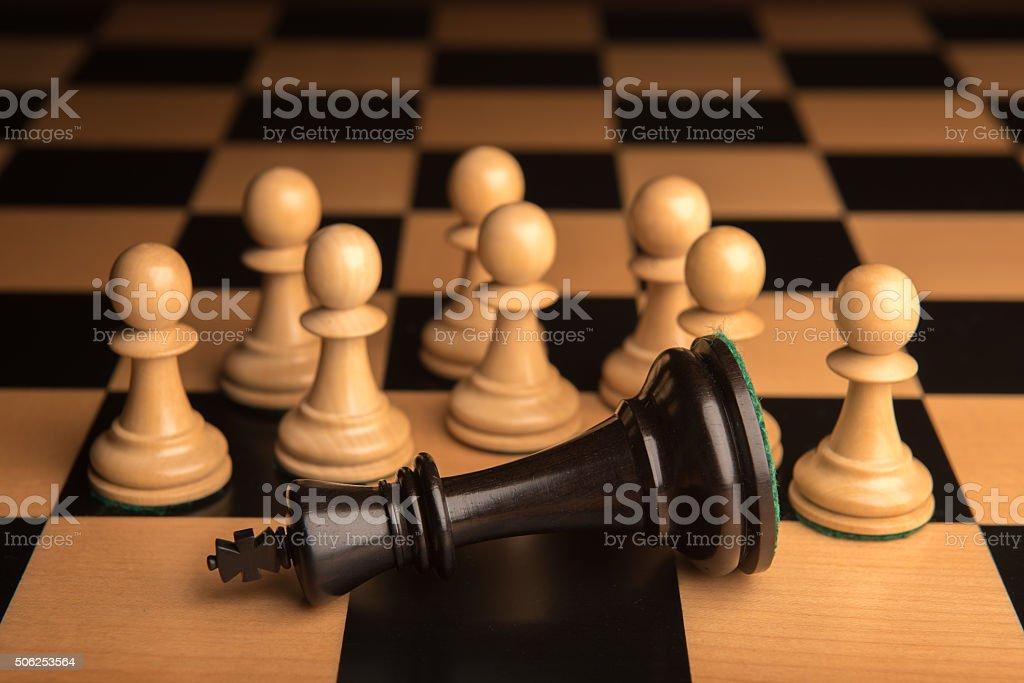Chess 10 stock photo
