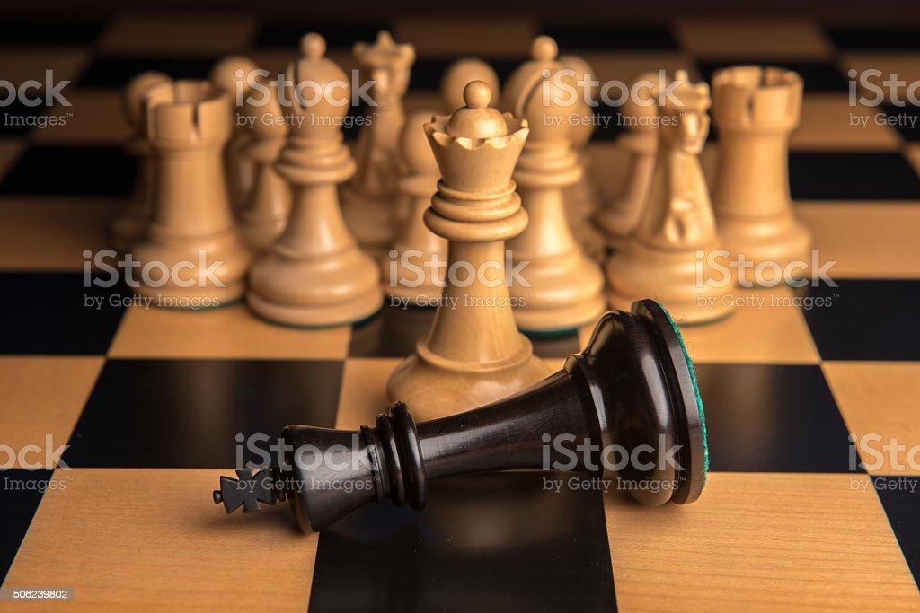 Chess 2 stock photo