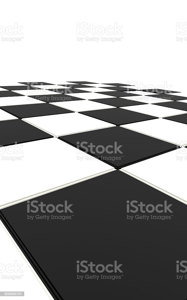 Chess bard rendered black royalty-free stock photo