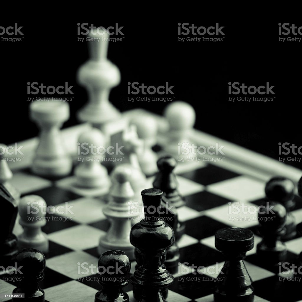 Chess board royalty-free stock photo