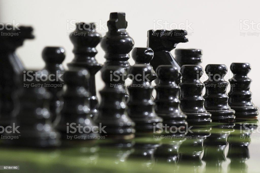 Chess board royalty-free stock photo