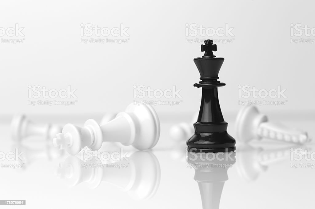 Chess - Checkmate stock photo