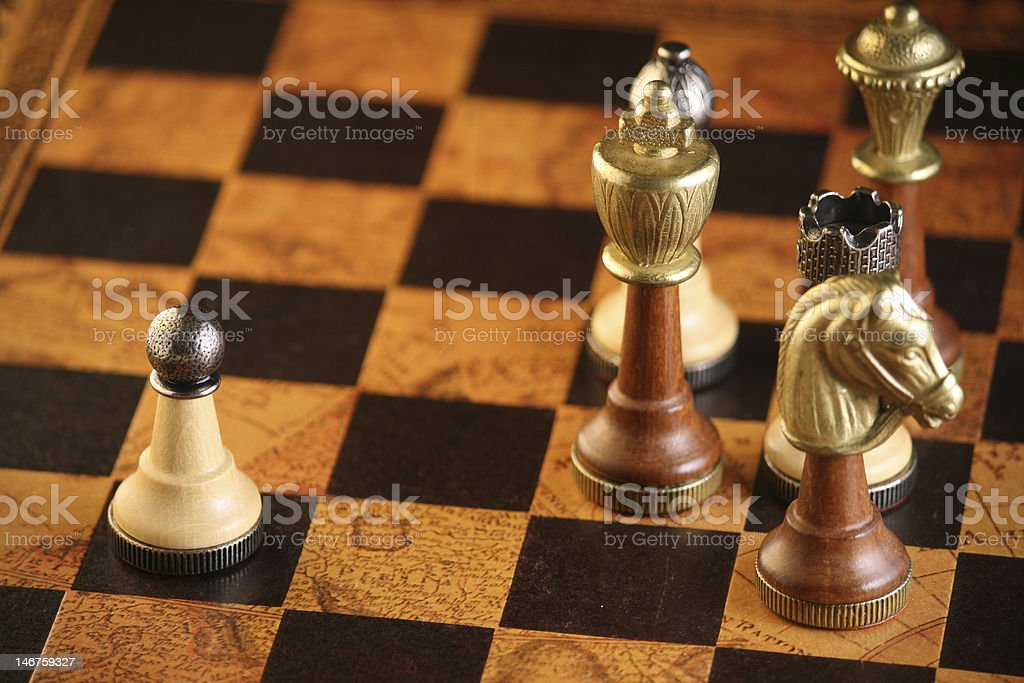 Chess Classism stock photo
