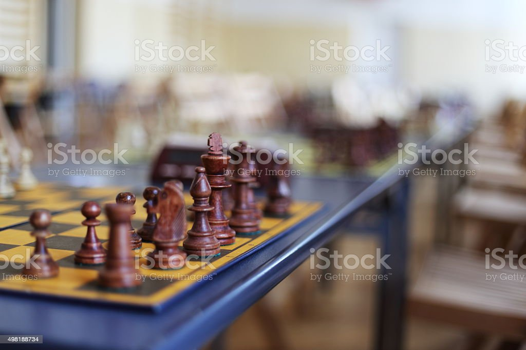 chess competition royalty-free stock photo