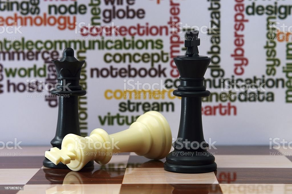Chess concept royalty-free stock photo