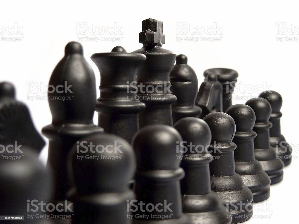 Chess detail royalty-free stock photo