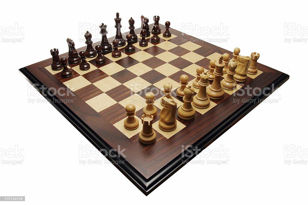 Chess diagonal royalty-free stock photo