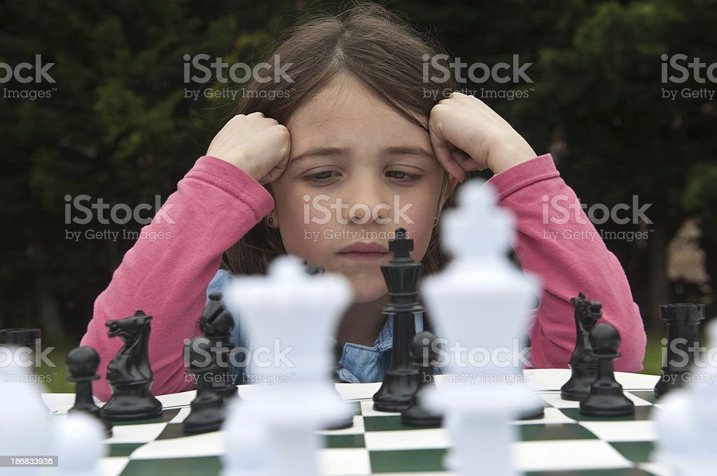 Chess expert royalty-free stock photo