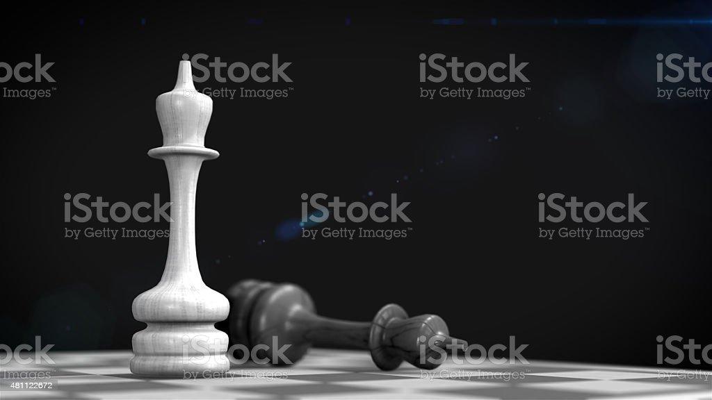 D'échecs chiffres photo libre de droits
