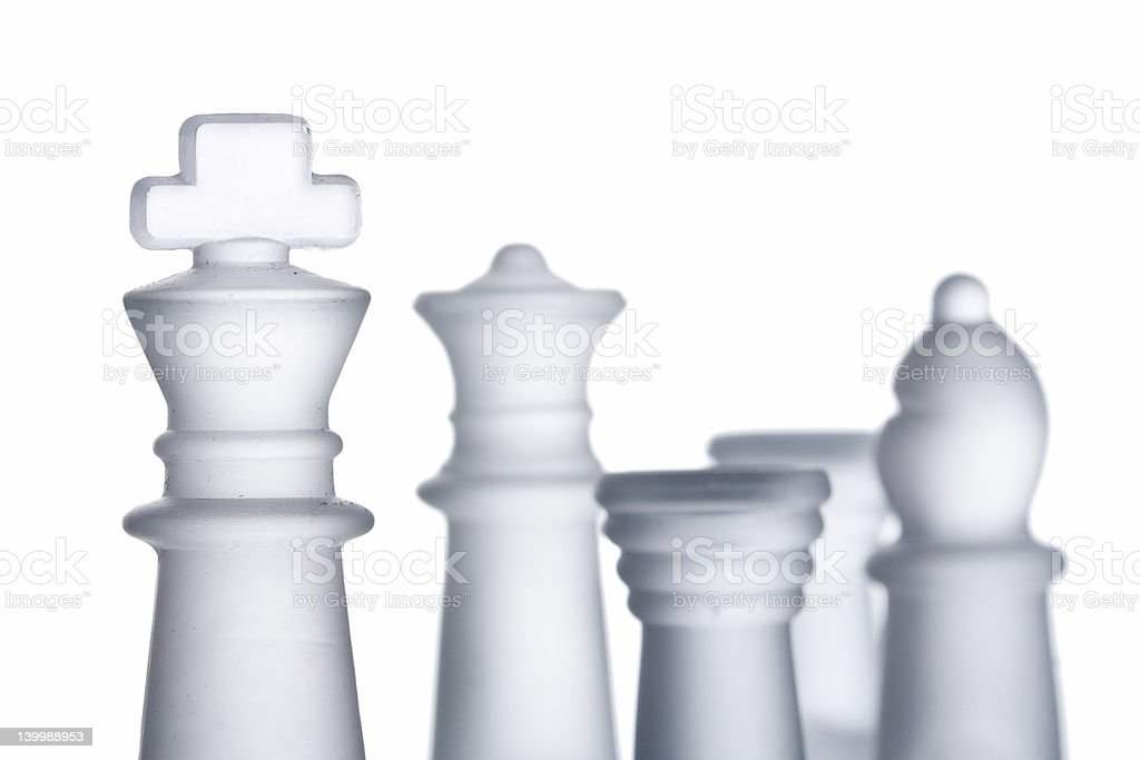 Chess formation royalty-free stock photo