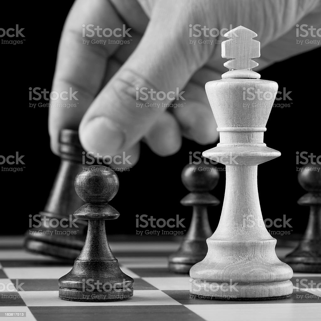 Chess game royalty-free stock photo