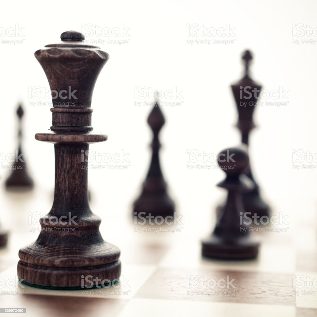 Chess Game stock photo