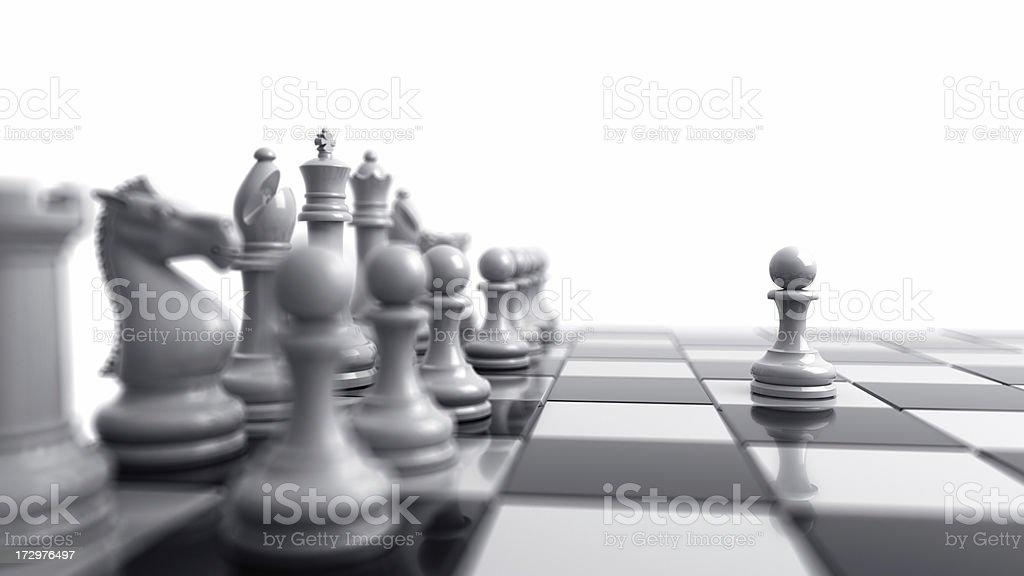 Chess I stock photo