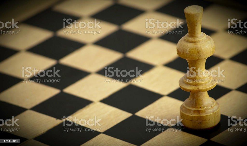Chess king royalty-free stock photo