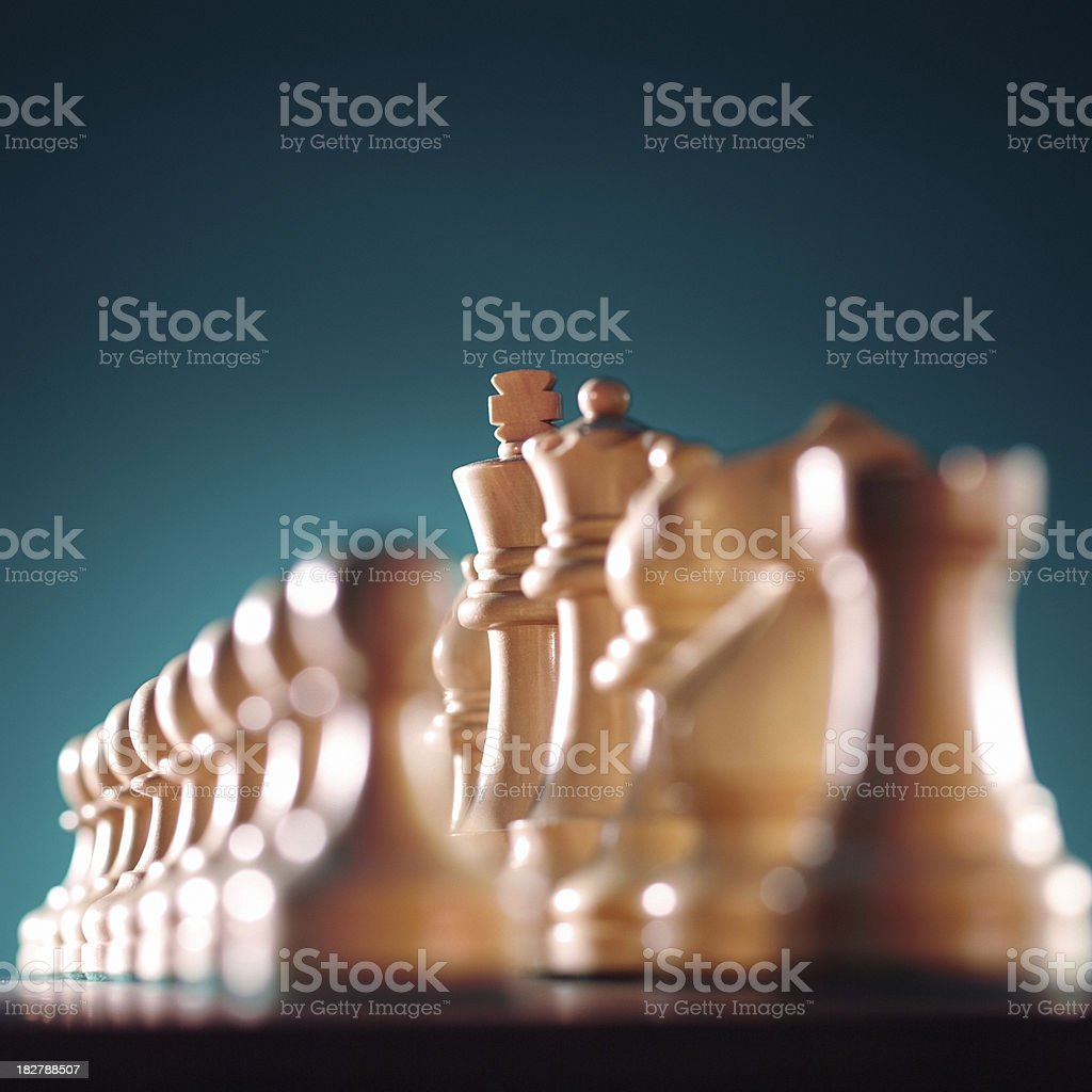 Chess King royalty-free stock photo