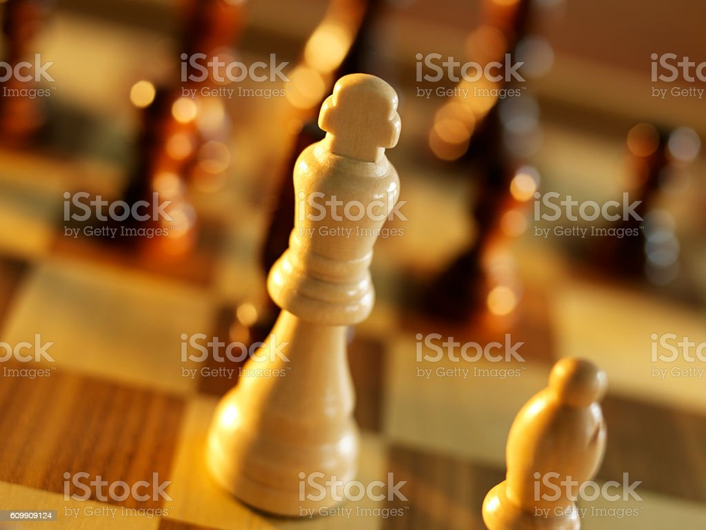 chess king stock photo