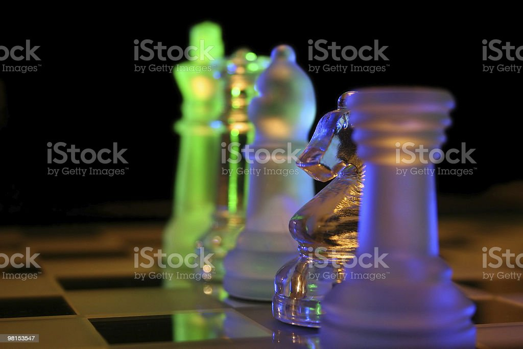 Chess leaders royalty-free stock photo