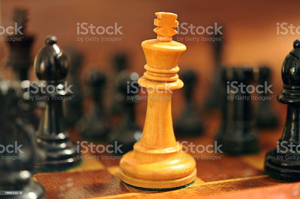 chess mate stock photo
