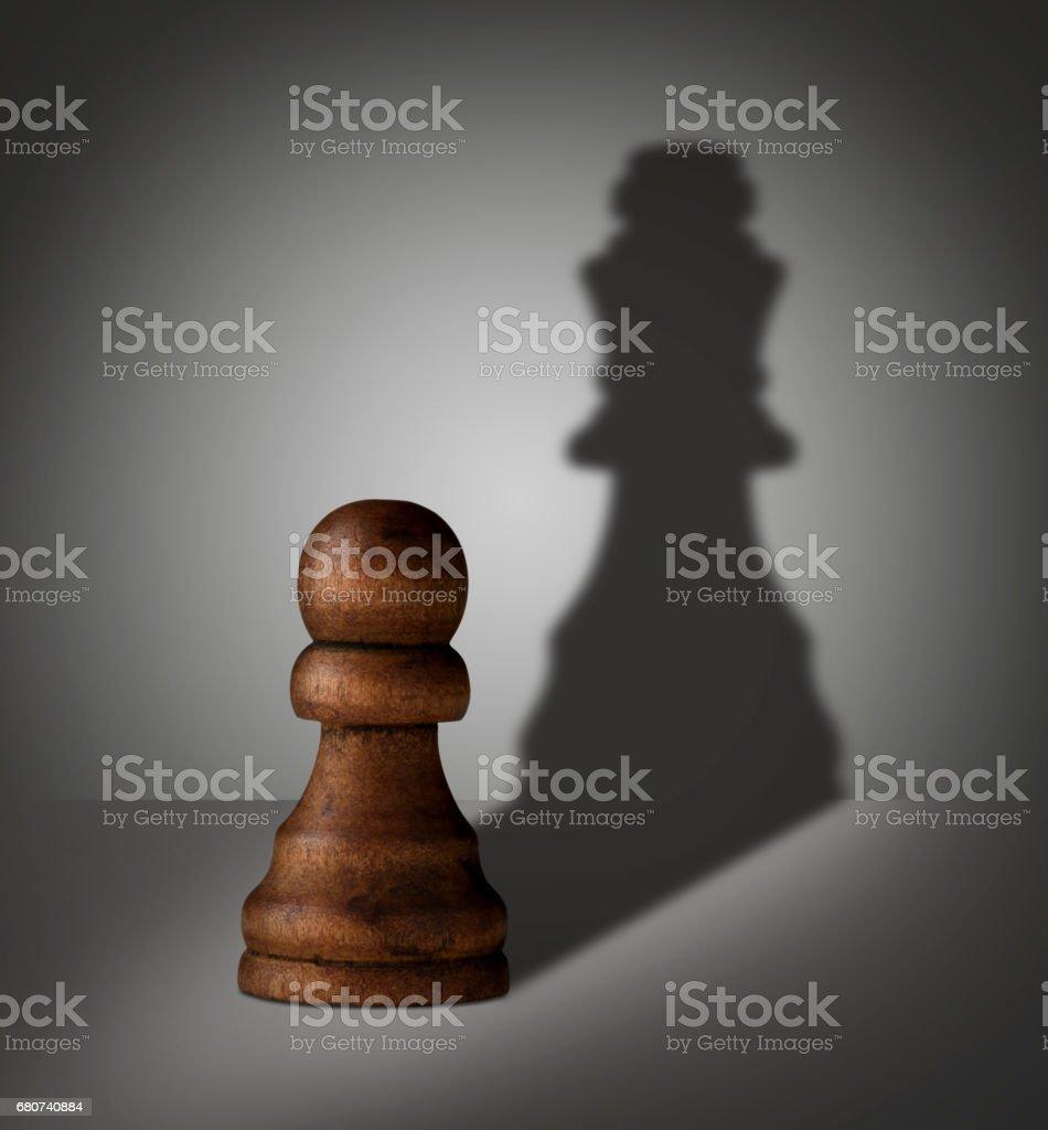 chess pawn stock photo