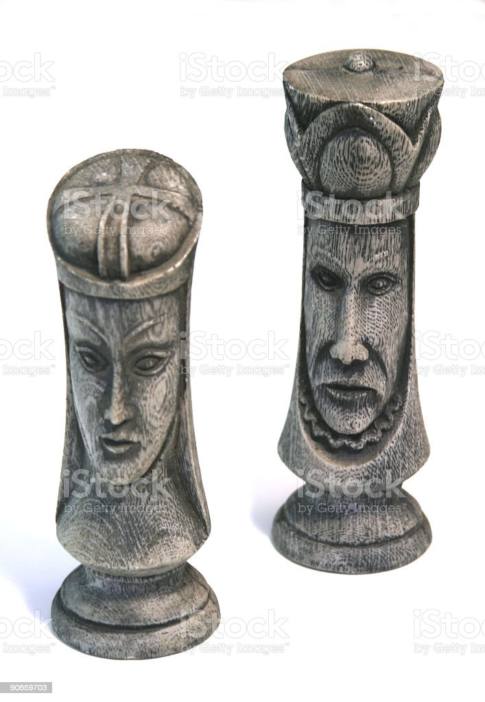 Chess Peices royalty-free stock photo