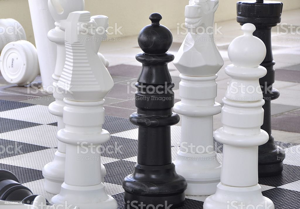 Chess royalty-free stock photo