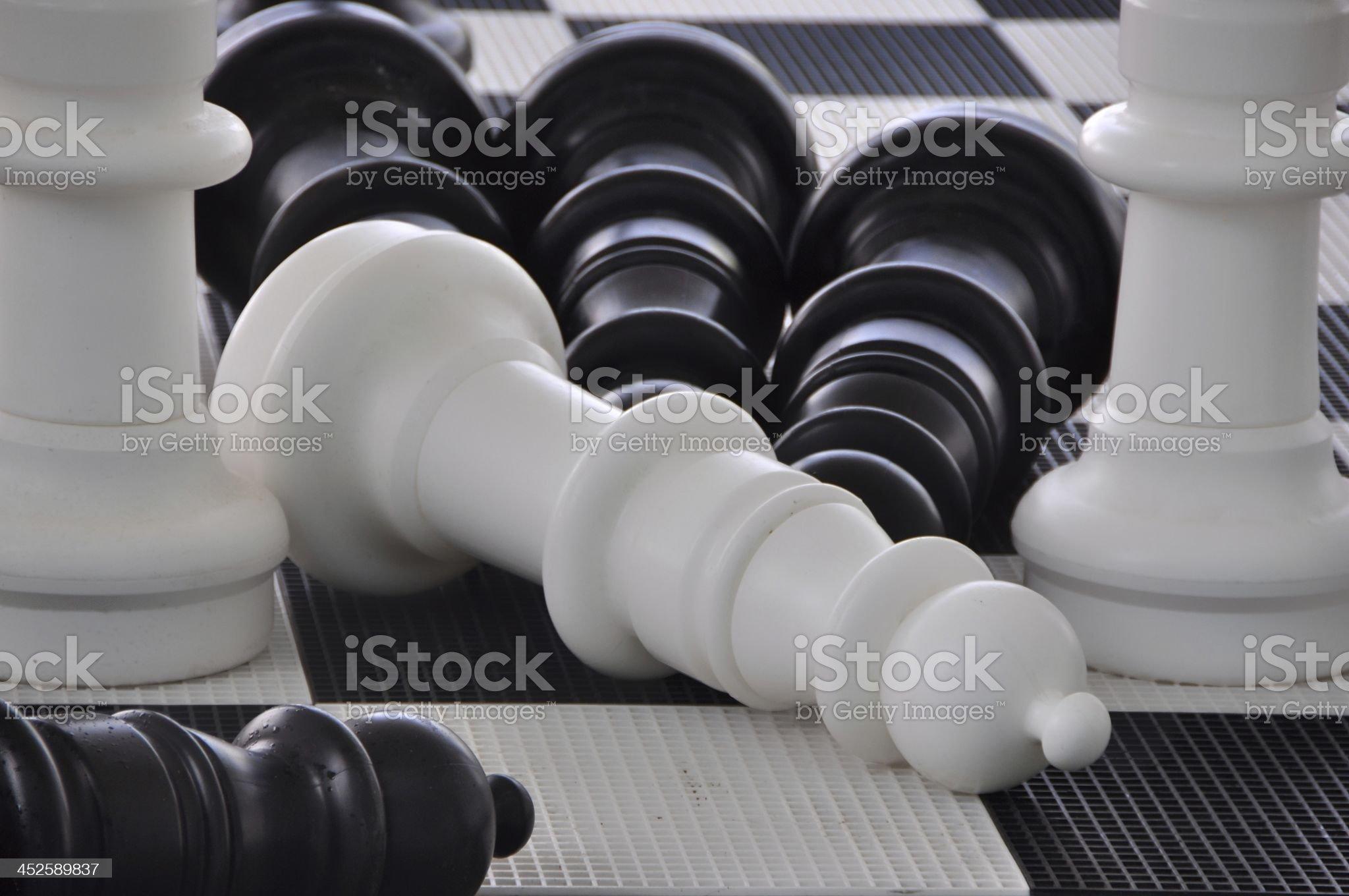Chess royalty-free stock photo