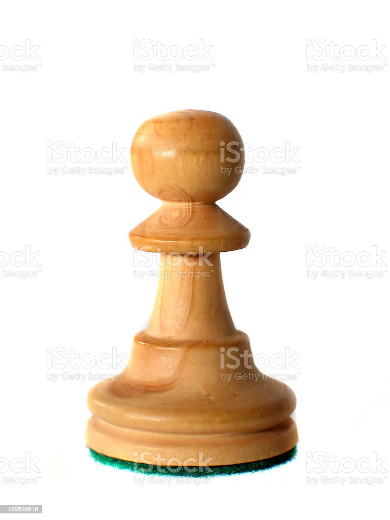 Chess Piece - Pawn royalty-free stock photo