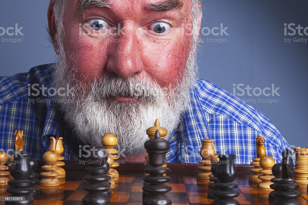 Chess Player royalty-free stock photo