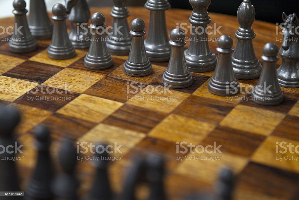 Chess - Ready, Set, Go royalty-free stock photo