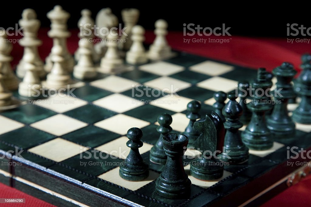Chess series royalty-free stock photo
