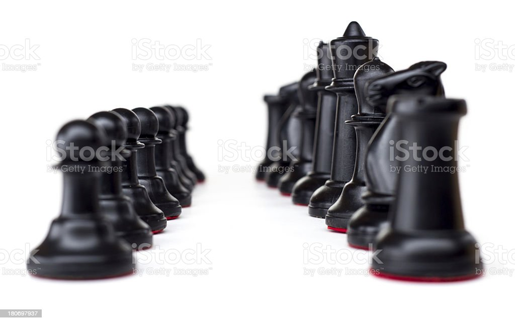 Chess Set royalty-free stock photo