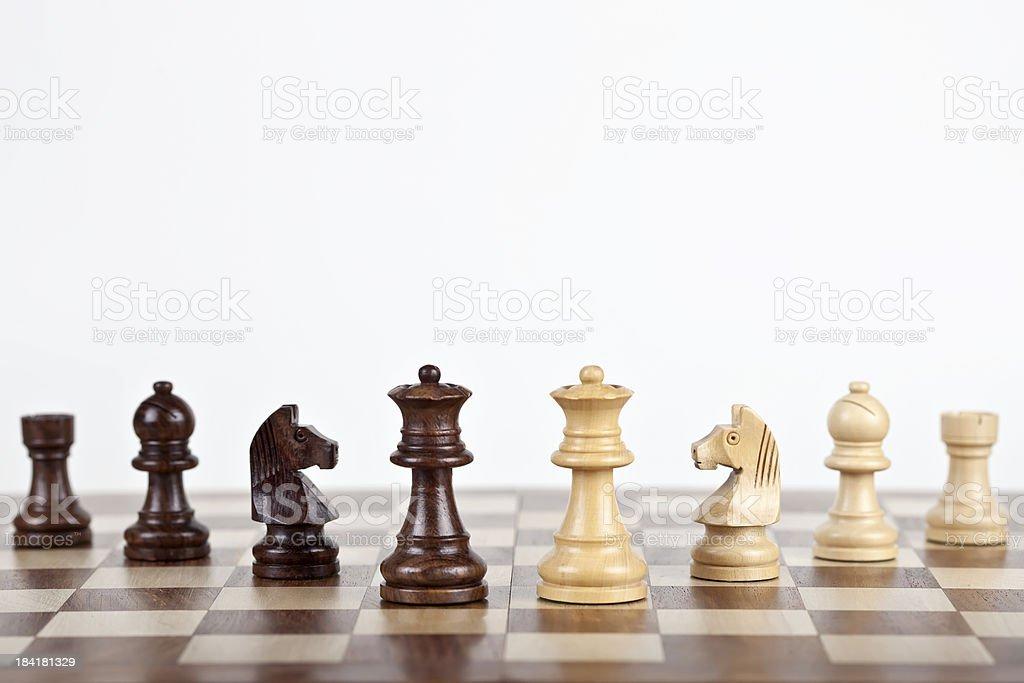 Chess Set stock photo