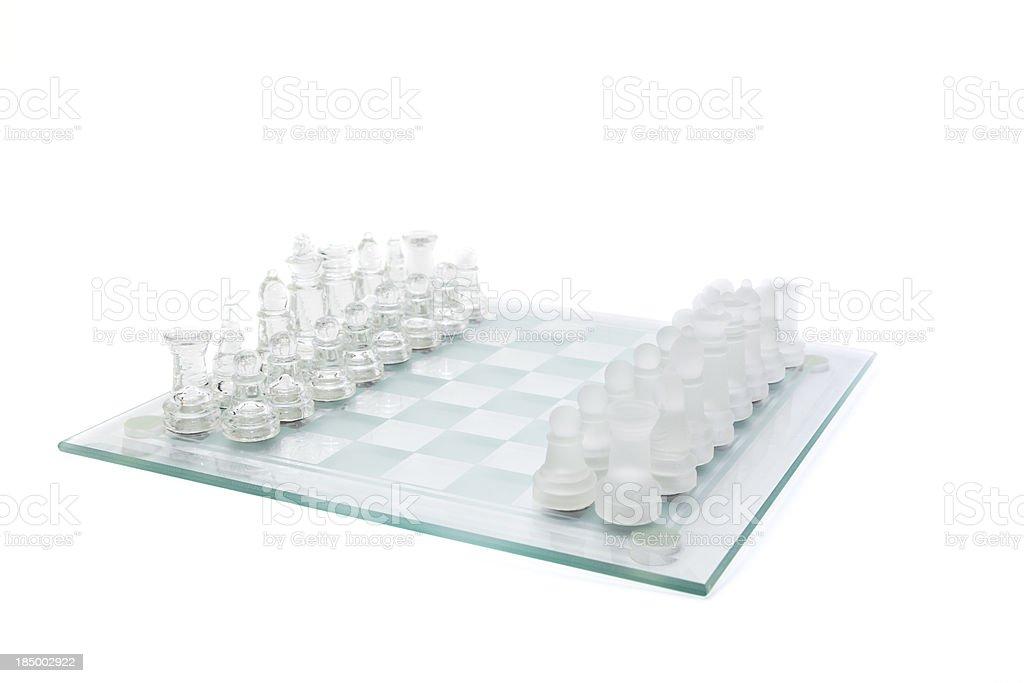 Chess set royalty-free stock photo