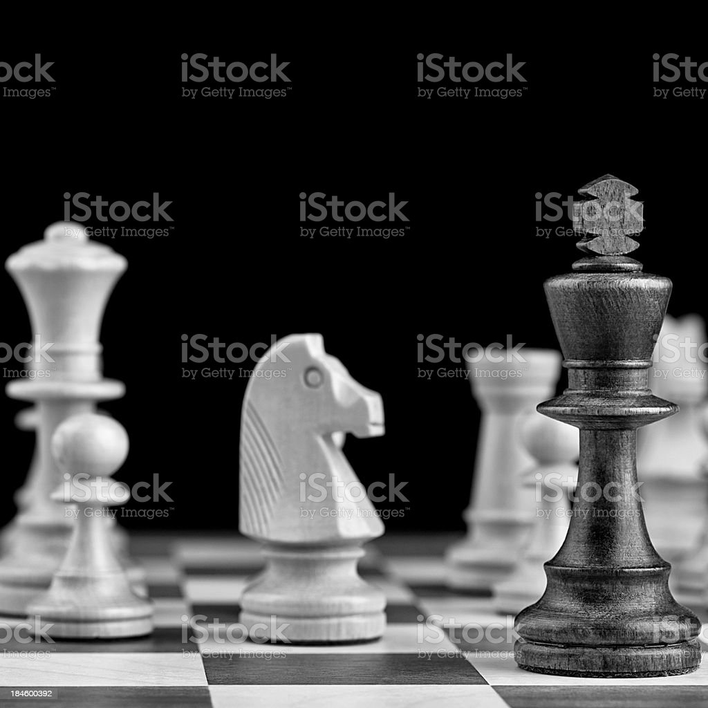 Chess Table royalty-free stock photo