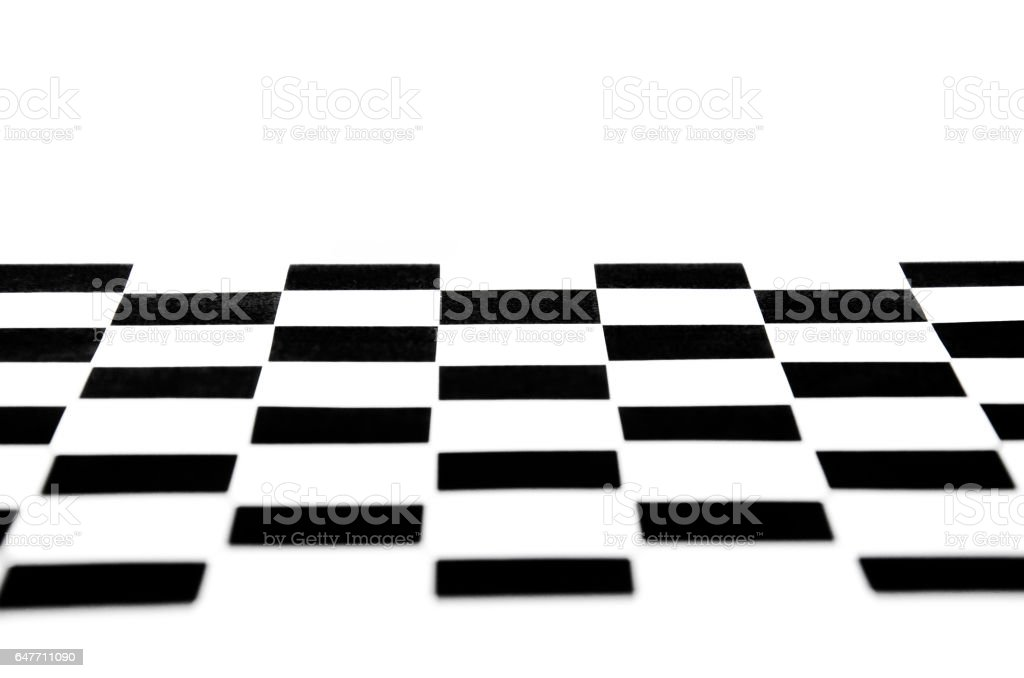 chessboard  floor white wall stock photo