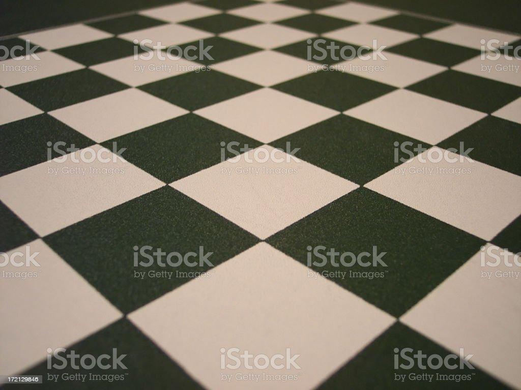 Chessboard Macro stock photo