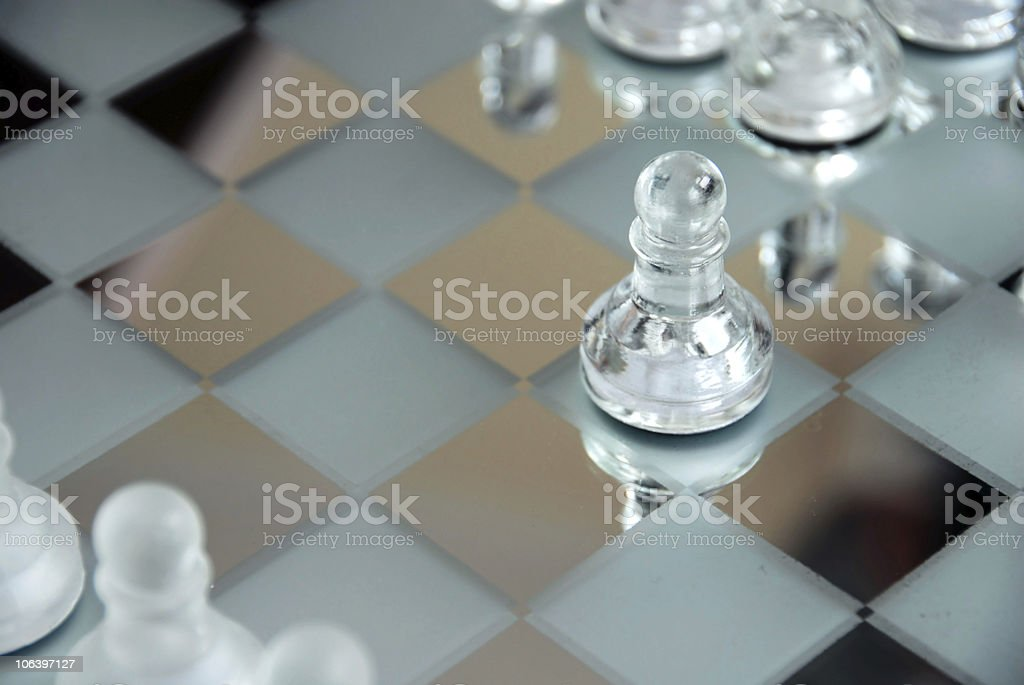 Chessboard royalty-free stock photo
