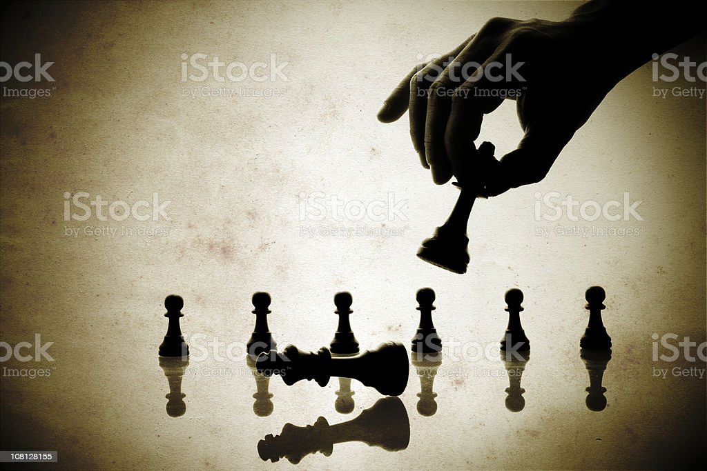 Chessmate royalty-free stock photo