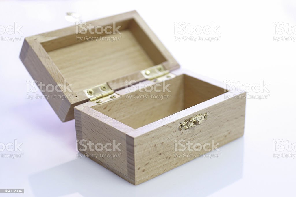 Chest Box royalty-free stock photo