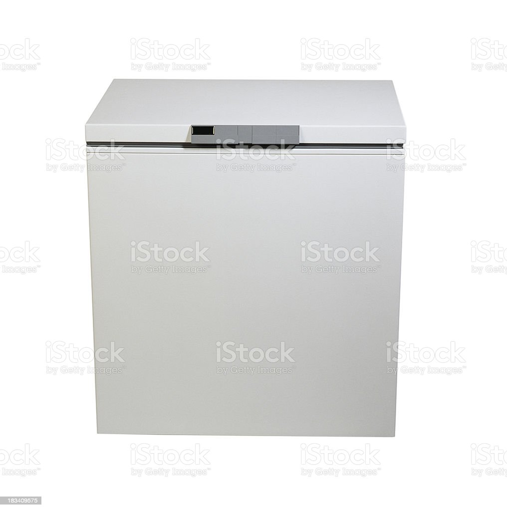 Chest Freezer stock photo