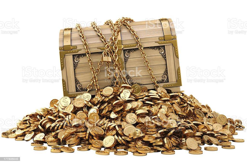 chest stock photo
