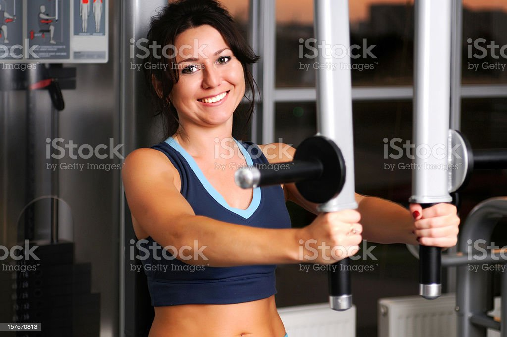 Chest Press royalty-free stock photo