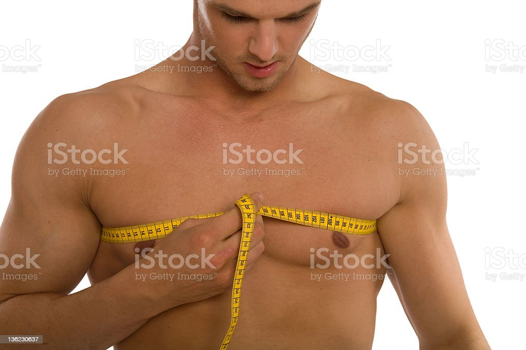 Chest Size royalty-free stock photo